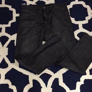 Levi's dark grey jeans